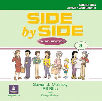 Side by Side 3 Activity Workbook 3 Audio CDs (2) - Molinsky Steven J.