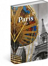 Diář 2018 - Paříž, týdenní magnetický, 10,5 x 15,8 cm