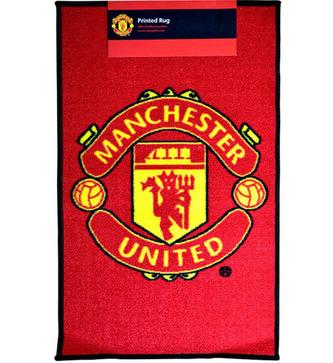 Kobereček FC Manchester United: Znak (80 x 50 cm) červený polyamid