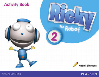 Ricky The Robot 2 Activity Book - Simmons Naomi