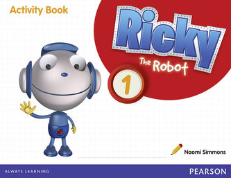 Ricky The Robot 1 Activity Book - Simmons Naomi