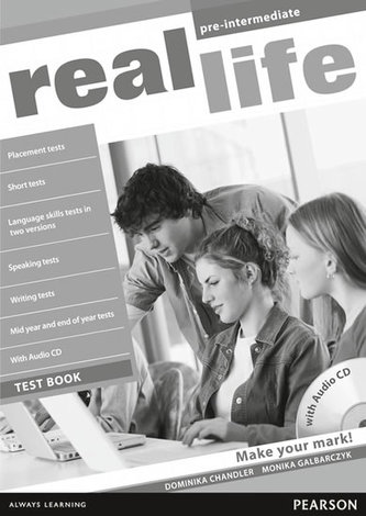 Real Life Global Pre-Intermediate Test Book & Test Audio CD Pack - Liz Foody, Nick Dawson, Dominika Chandler