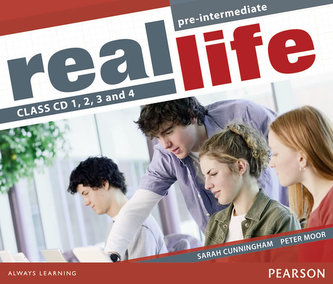 Real Life Global Pre-Intermediate Class CD 1-4 - Cunningham, Sarah