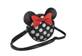 Dámská kabelka na rameno Disney: Minnie Mouse (18 x 18 x 5 cm) černý PU