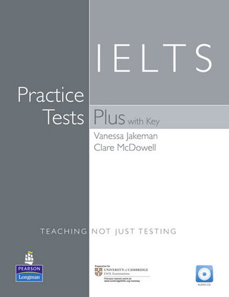 Practice Tests Plus IELTS With Key & CD Pack - Jakeman, Vanessa