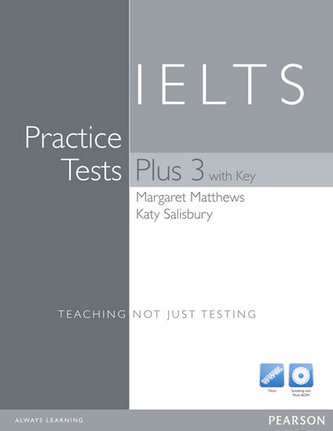 Practice Tests Plus IELTS 3 with Key and Multi-ROM/Audio CD Pack - Matthews, Margaret