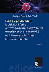 Fyzika v příkladech II. - Molekulová fyzika a termodynamika, elektrostatika, elektrický proud, magnetické a elektromagnetické po