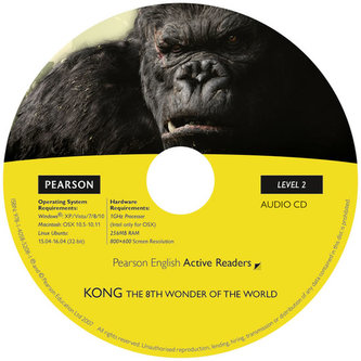 PLAR2:Kong the Eighth Wonder of the World Book/CD Pack - Degnan-Veness, Coleen