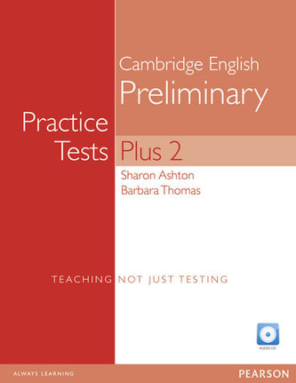 PET Practice Tests Plus 2: Book with CD-Rom - Hashemi Louise, Thomas Barbara,