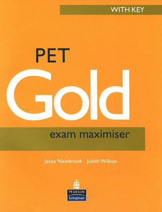 PET Gold Exam Maximiser with key NE and Audio CD Pack - Newbrook, Jacky
