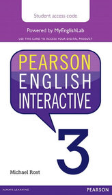 Pearson English Interactive 3 (Access Code Card)