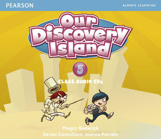 Our Discovery Island 5 Audio CD - Barraclough Carolyn, Roderick Megan