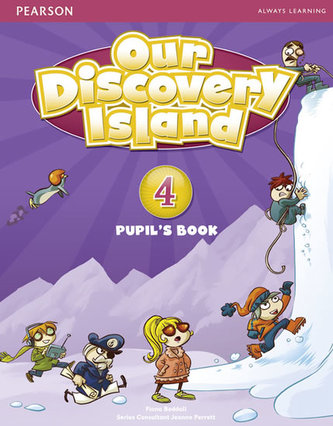 Our Discovery Island 4 Student´s Book plus pin code - Beddall Fiona