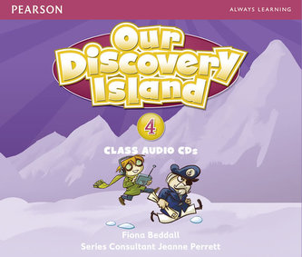 Our Discovery Island 4 Audio CD - Beddall Fiona