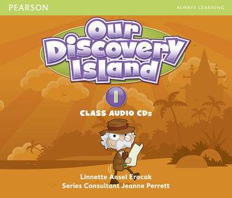 Our Discovery Island 1 Audio CD - Linnette Ansel Erocak, Regina Raczyńska