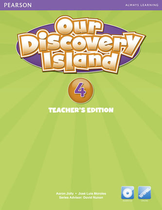 Our Discovery Island 4 Teachers Book with Audio CD/Pack