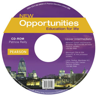New Opportunities Global Upper-Intermediate CD-ROM New Edition - Reilly, Patricia