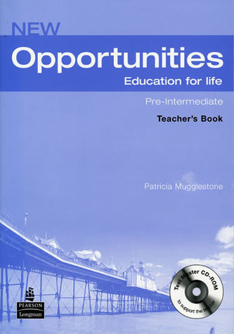 New Opportunities Global Pre-Intermediate Teacher´s Book Pack NE - Mugglestone, Patricia