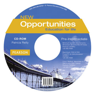 New Opportunities Global Pre-Intermediate CD-ROM New Edition - Reilly, Patricia