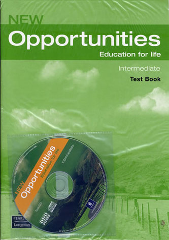 New Opportunities Global Intermediate Test CD Pack - Szmerdt Dominika
