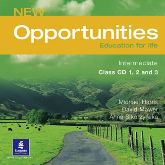 New Opportunities Global Intermediate Class CD New Edition - Michael Harris