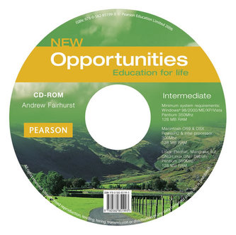 New Opportunities Global Intermediate CD-ROM New edition - Fairhurst Andrew