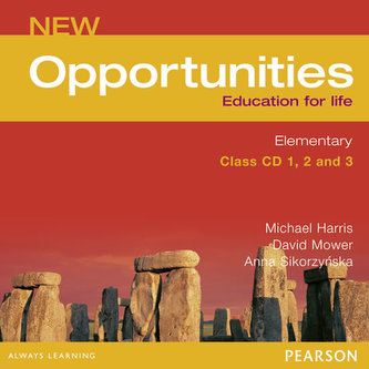New Opportunities Global Elementary Class CD New Edition - Michael Harris