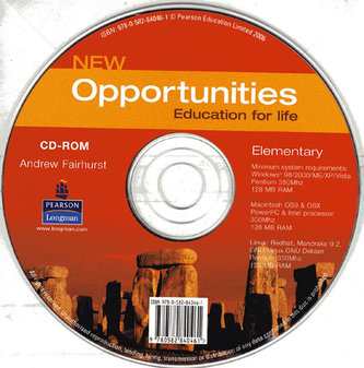 New Opportunities Global Elementary CD-ROM New Edition - Fairhurst Andrew