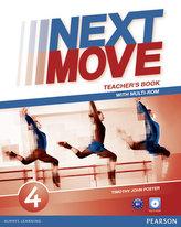 Next Move 4 Teacher´s Book & Multi-ROM Pack