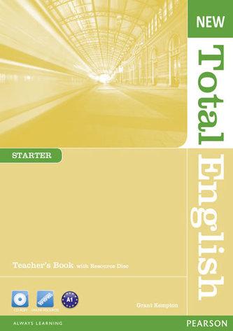 New Total English Starter Teacher´s Book w/ Teacher´s Resource Pack - Ofteringer Irene