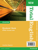 New Total English Starter eText Students´ Book Access Card