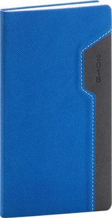 Diář 2018 - Thun - kapesní, modročerný, 9 x 15,5 cm