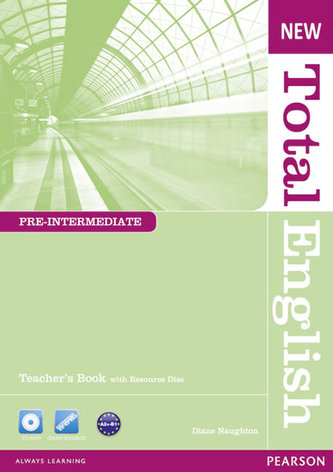 New Total English Pre-Intermediate Teacher´s Book and Teacher´s Resource CD Pack - Naughton Diane