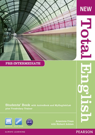 New Total English Pre-Intermediate Students´ Book with Active Book and MyLab Pack - Crace, Araminta