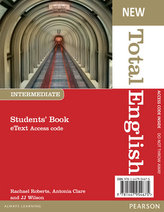 New Total English Intermediate eText Students´ Book Access Card