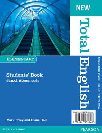 New Total English Elementary eText Students´ Book Access Card - Crace, Araminta