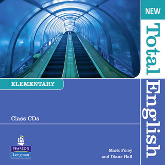 New Total English Elementary Class Audio CD - Diane Hall; Mark Foley