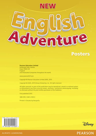New English Adventure PL 1/GL Starter B Posters