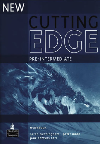 New Cutting Edge Pre-Intermediate Workbook No Key - Cunningham, Sarah