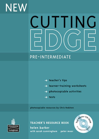 New Cutting Edge Pre-Intermediate Teachers Book and Test Master CD-Rom Pack - Barker Helen
