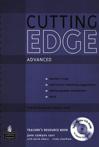 New Cutting Edge Advanced Teachers Book and Test Master CD-Rom Pack - Comyns Carr, Jane