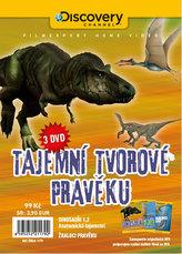 Tajemní tvorové pravěku - 3 DVD v papírové pošetce s letákem