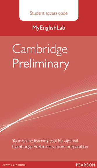 MyEnglishLab Cambridge Preliminary Standalone Student Access Card - neuveden