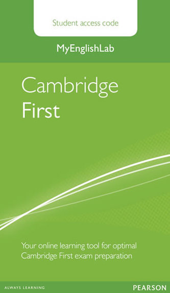 MyEnglishLab Cambridge First Standalone Student Access Card - neuveden