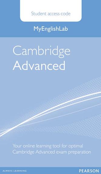 MyEnglishLab Cambridge Advanced Standalone Student Access Card - neuveden