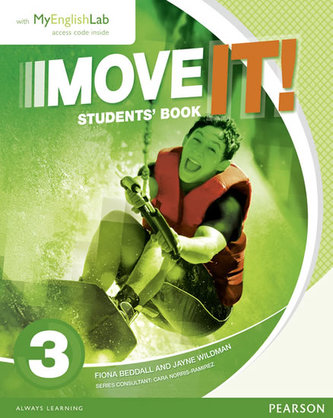 Move It! 3 Students´ Book & MyEnglishLab Pack - Wildman Jayne