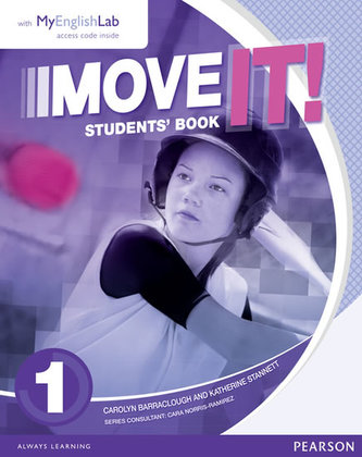 Move It! 1 Students´ Book & MyEnglishLab Pack