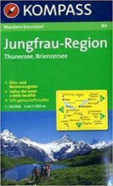 Jungfrau-Region 84 Thunersee, Brienzersee