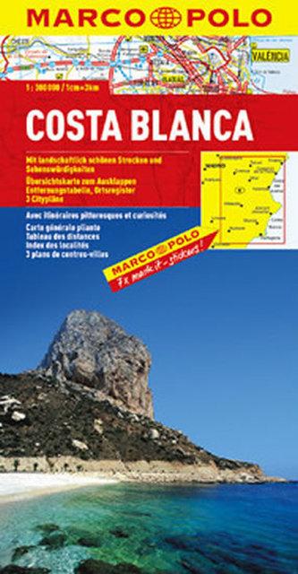 Costa Blanca/mapa