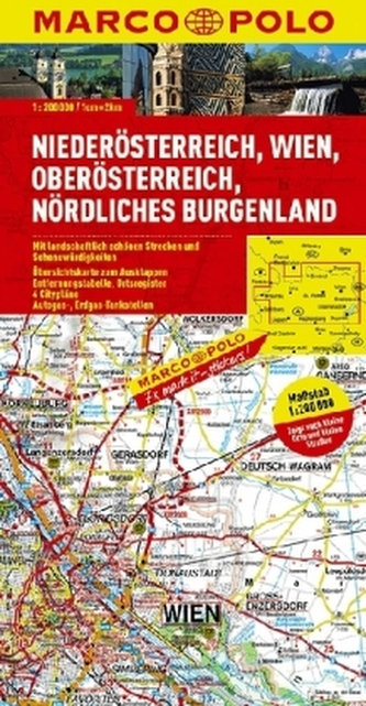 Rakousko 1 / mapa - neuveden